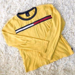 Tommy Hilfiger Vintage Yellow Shirt